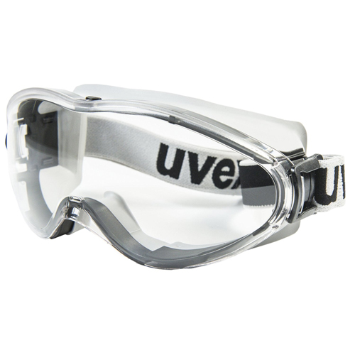 7a614203525d47 Ruimzichtbril Goggle Ultrasonic 9302-285 grijs-zwart uvex