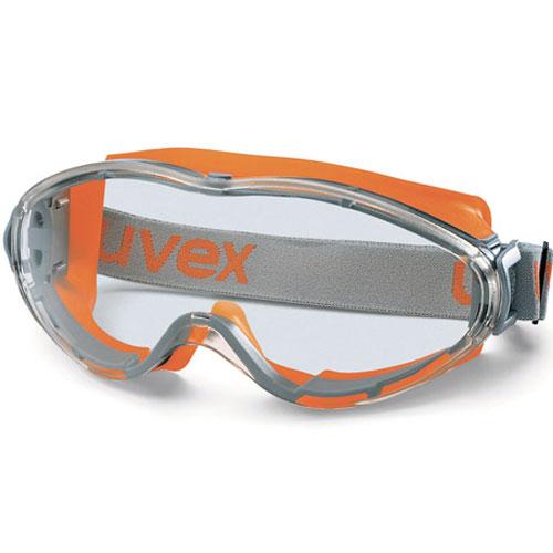 dedb2bb8426c0b Ruimzichtbril Goggle Ultrasonic 9302-245 oranje-grijs montuur uvex